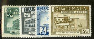 GUATEMALA C281-82A MH SCV $2.30 BIN $1.10