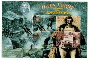 Maldives MNH S/S Jules Verne Visions & Adventures
