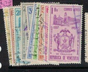 Venezuela SC C690, 692-8, 700 VFU (5ewz)