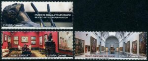 HERRICKSTAMP NEW ISSUES SPAIN Museums 2019