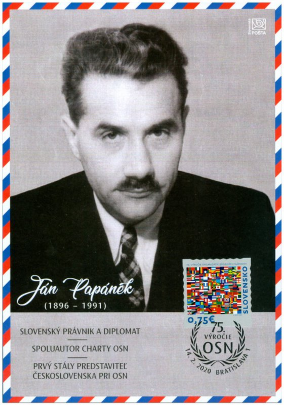 SLOVAKIA/2020 - (Collection Sheet) The 75th Anni. of the Foun. of the UN, MNH
