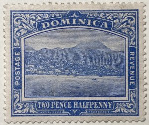 AlexStamps DOMINICA #53 XF Mint