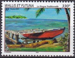 Wallis & Futuna #599  MNH CV $7.00  (Z7878)