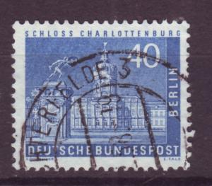 J17519 JLstamps 1956-63 germany berlin occup,t part of set used #9n131 town