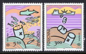 Faroe Islands 143-144 Europa MNH VF