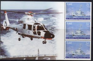 Ireland MNH S/S 1019a Naval Service 50th Anniversary
