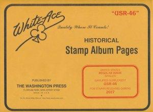 WHITE ACE 2017 US Regular Issue Singles Simplified Album Supplement USR-46