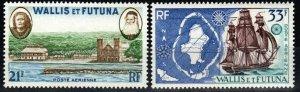 Wallis And Futuna Islands #C13-14  F-VF Unused CV $11.25 (X993)
