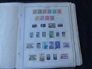 Finland 1954-1985 Stamp Collection on Scott Specialty Album Pages