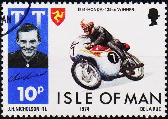 Isle of Man. 1974 10p S.G.49 Fine Used