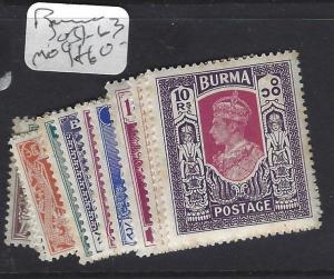 BURMA  (P0708B) KEVI  SG 51-63   MOG