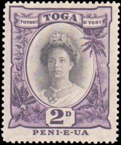 Tonga #56a, Complete Set, 1920-1935, Hinged