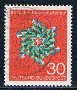 Germany 991 Used Trade Unions (GI0457P109)+