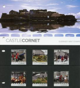 Guernsey 2017 MNH Castle Cornet Europa Castles 6v Pres Pack Architecture Stamps
