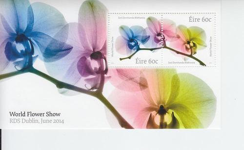 2014 Ireland World Flower Show SS (Scott 2037-38b) MNH