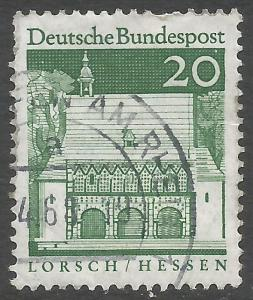 GERMANY 939 VFU S756-4