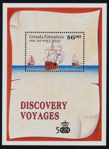 Grenada Grenadines 1307-8 MNH Christopher Columbus, Sailing Ships