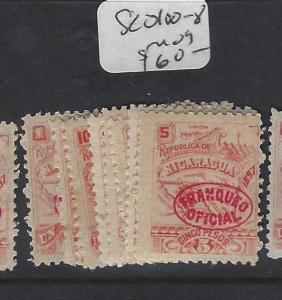 NICARAGUA  (P0301B)   OFFICIAL SC O 100-8    MOG