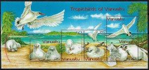 Vanuatu #857a MNH S/Sheet - Red-tailed Tropicbird