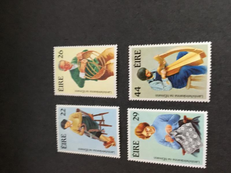 Ireland Scott 575-8 Mint VF-H 2015 Cat. $4.95 1983 Handcrafts Complete Set.