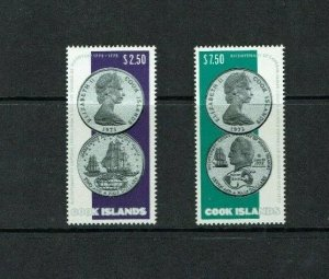 Cook Islands: 1974 Bicentenary Capt Cook 2nd Voyage of Discovery, MNH set