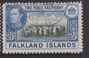 Falkland Islands Sc#87 Used