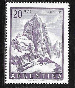 Argentina 641: 20p Mount Fitz Roy (3375 m), Los Glaciares National Park, MLH,...