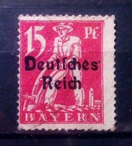 Deutsches Reich Plate Flaw IV
