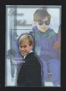 Dominica  souvenir sheet  mnh sc  2416 - 2417