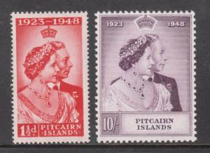Pitcairn Islands #11 - #12 Very Fine Never Hinged Set