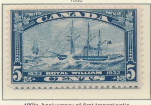 Canada Stamp Scott #204, Mint Hinged - Free U.S. Shipping, Free Worldwide Shi...