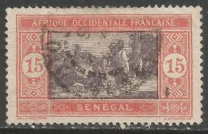 SENEGAL 87 VFU Z499