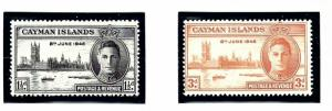 Cayman Is 112-13 MLH 1946 Peace Issue