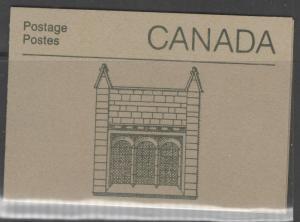 CANADA SGSB100i 1987 WINDOWS CENTRE BLOCK DESIGN BOOKLET