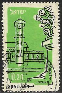Israel Air Mail 1960 Scott# C19 Used