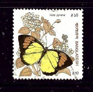 Bangladesh 382 Used Butterflies