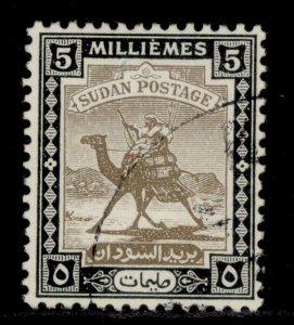SUDAN GVI SG100, 5m olive-brown & black, FINE USED.