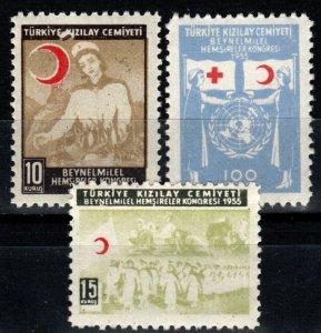 Turkey #RA183-5 MNH CV $5.00 (X1354)