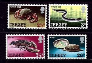 Jersey 91-94 MNH 1973 Marine Life