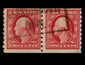 Scott #393 F/VF-used. SCV - $130.00