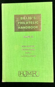 Billig's Philatelic Handbook  Vol 33  Fourth Revised Edition 1972 Fancy Cancels
