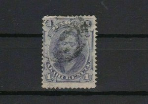 hawaii 1864 1 cent used stamp r13052