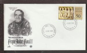 Investiture of Pope John Paul I 1978 Cover