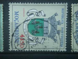 MOZAMBIQUE, 1961, used 4e50, Arms Scott 418