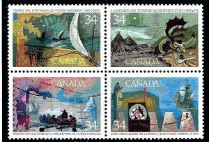 Canada 1107a MNH 1986 Exploration of Canada    (ap3390)