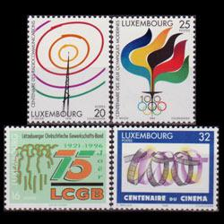 LUXEMBOURG 1996 - Scott# 946-9 Events Set of 4 NH