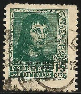 Spain 1938 Scott# 656 Used