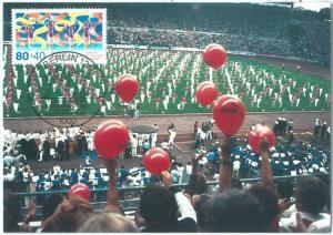 72787 - GERMANY Berlin - Postal History - MAXIMUM CARD - SPORT   1987