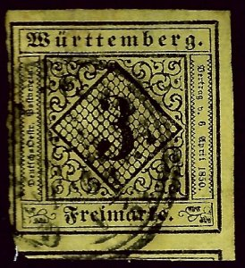 Wurttemberg SC#2 Used F-VF...Worth a close look!!