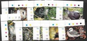 PITCAIRN ISLANDS SG462/73 1995 BIRDS MNH